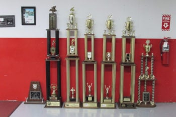 2001 Knoxville Nationals Trophy