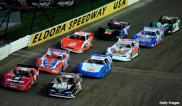 Eldora Speedway NASCAR Safer Barriers (NASCAR Truck Series)