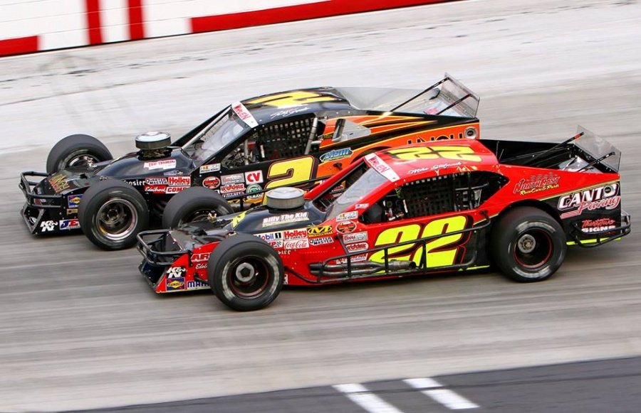 Nascar Modified Mike Stefanik Wins At Bristol In