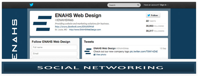 ENAHS Web Design - Social Networking